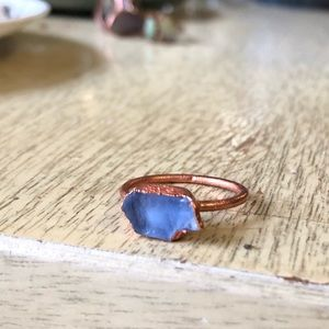 ***Sold*** Blue Andara Copper Ring